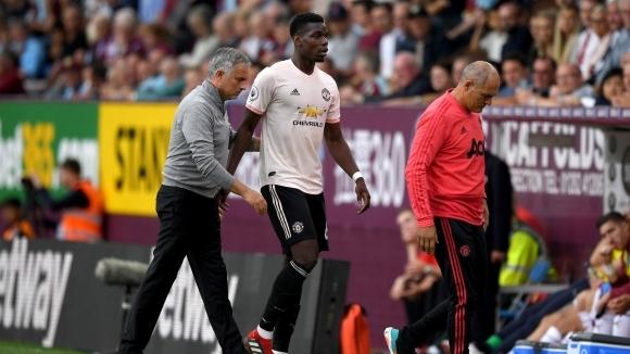 Мениджърът на Манчестър Юнайтед Жозе Моуриньо потвърди, че Пол Погба