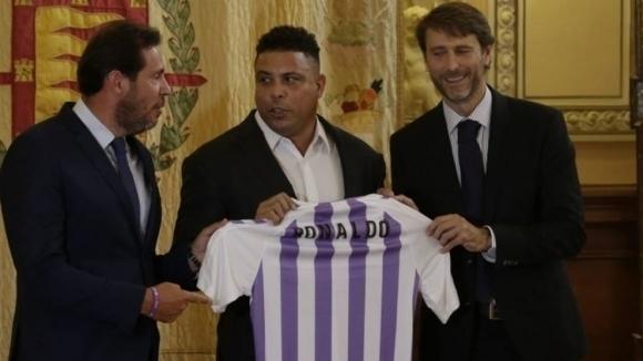 Новият главен акционер на Валядолид Роналдо заяви, че целта му