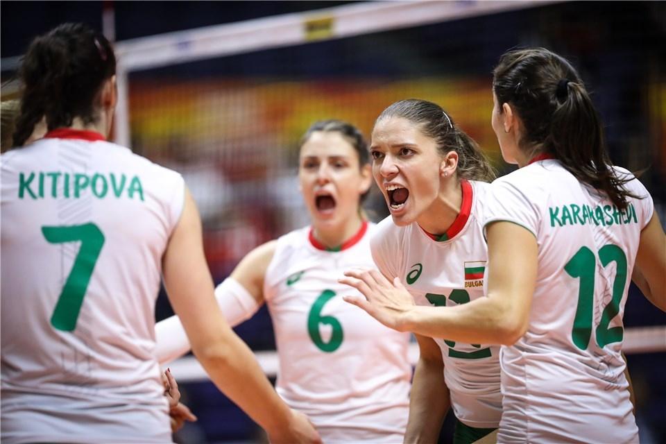 Волейболистките от националният отбор на България излизат срещу Канада в