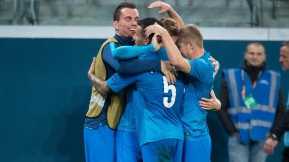 Отборът на Зенит излъга Славия (Прага) с минималното 1:0 във