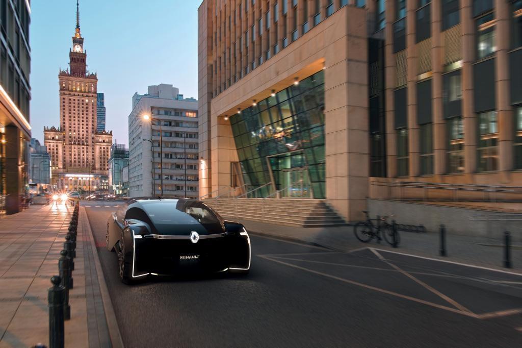 Снимка: Renault EZ-Ultimo: автономен автомобил за първокласно изживяване на мобилността