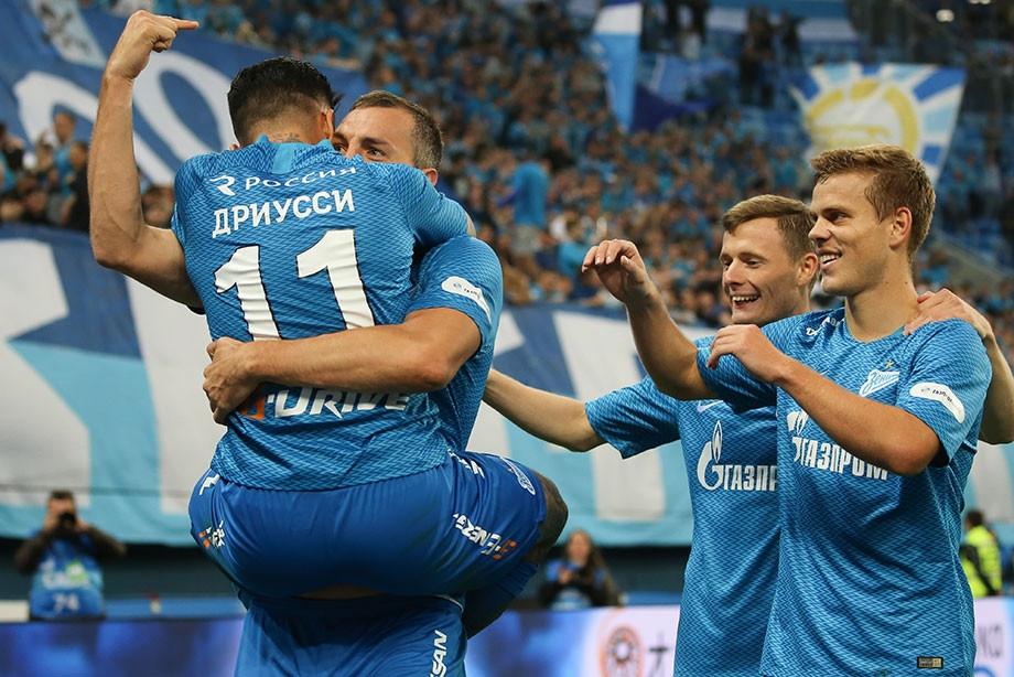 Отборът на Зенит постигна изключително важна победа с 2:1 над