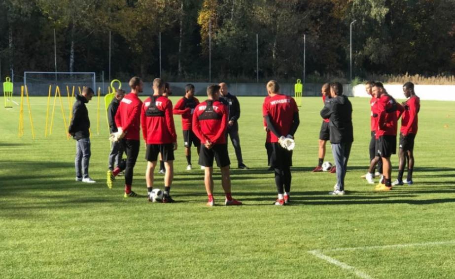 След тридневна почивка, футболистите на ЦСКА-София подновиха тренировки на базата