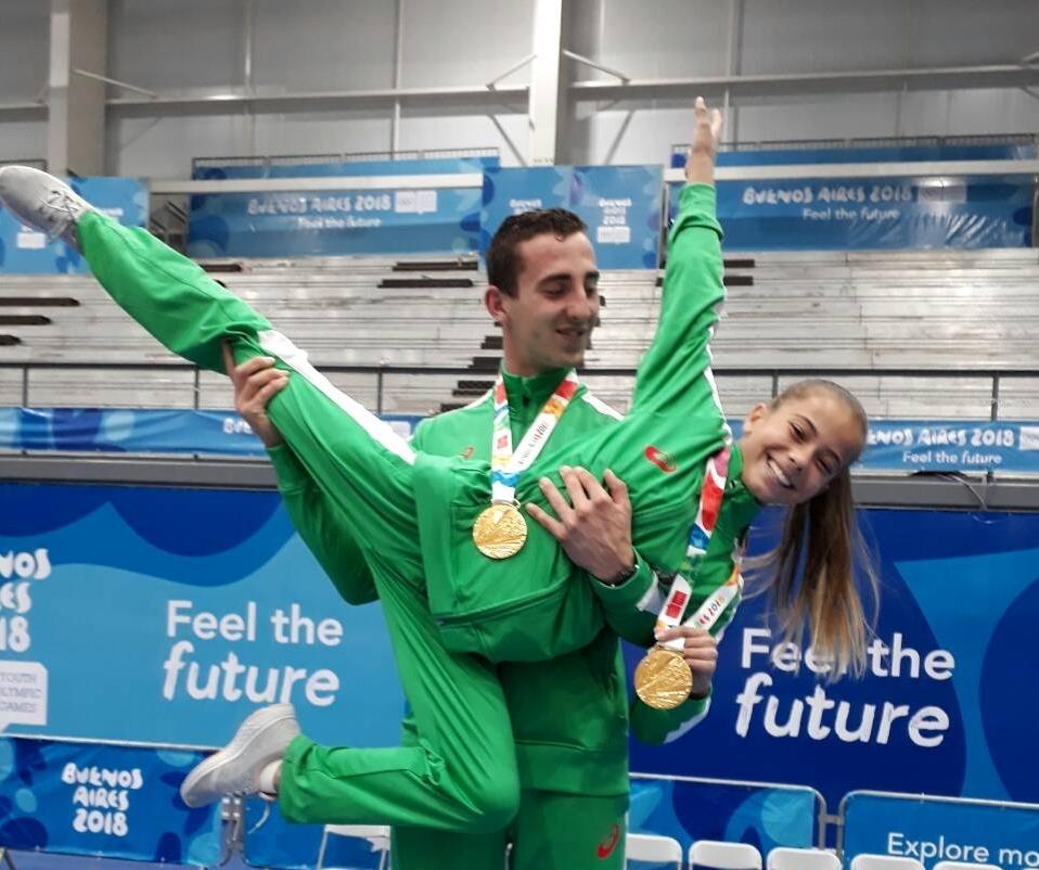 Златни медали за двамата представители в акробатиката на младежката олимпийски