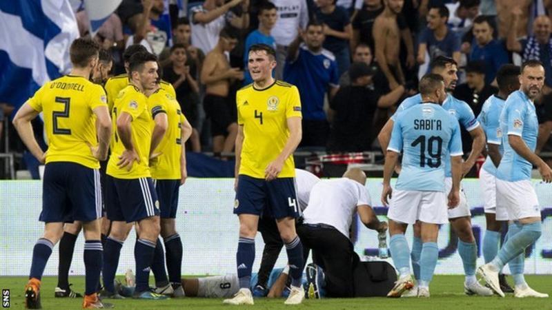 Израел успя да победи Шотландия с 2:1 в сблъсъка между