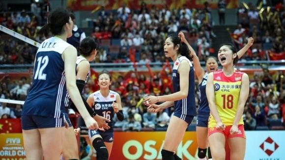 Световният шампион САЩ, олимпийският шампион Китай и отборът на Холандия