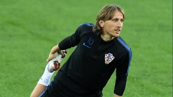 Полузащитникът на Реал Мадрид и хърватския национален отбор Лука Модрич