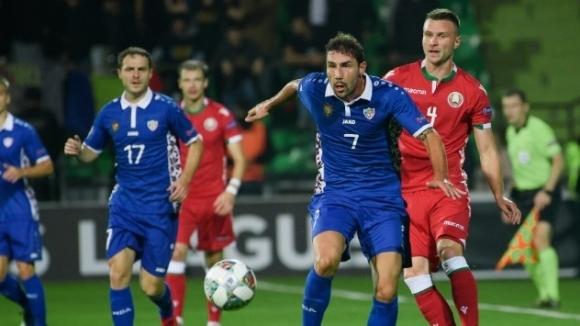 Отборът на Молдова записа ценен домакински успех с 2:0 над