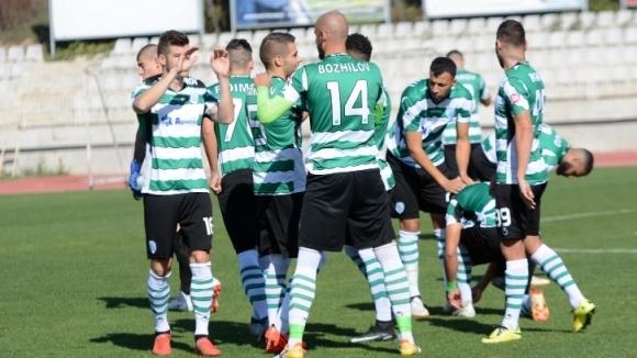 Отборът на Черно море записа победа с 2:0 срещу втородивизионния