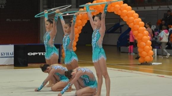 Над 300 гимнастички от 20 клуба от цялата страна участваха