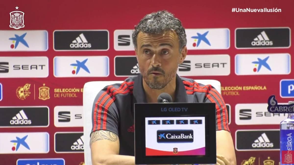Селекционерът на испанския национален отбор Луис Енрике призна, че симпатириза