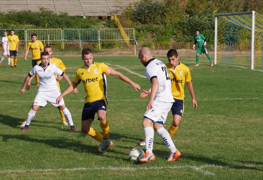 Младите футболисти на Волов (Шумен) записаха класическа загуба с 0:3