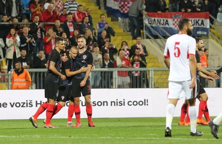 Финалистът от Мондиал 2018 Хърватия си припомни вкусът на победата,