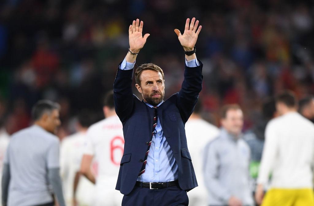 Гарет Саутгейт поздрави футболистите от националния отбор на Англия за
