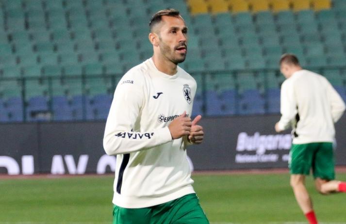 Бранителят на националния отбор Петър Занев бе разочарован от загубата