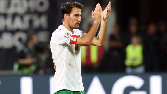 Капитанът на националния отбор на България Ивелин Попов сподели мнението