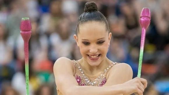 Българската представителка в художествената гимнастика на Младежките олимпийски игри в