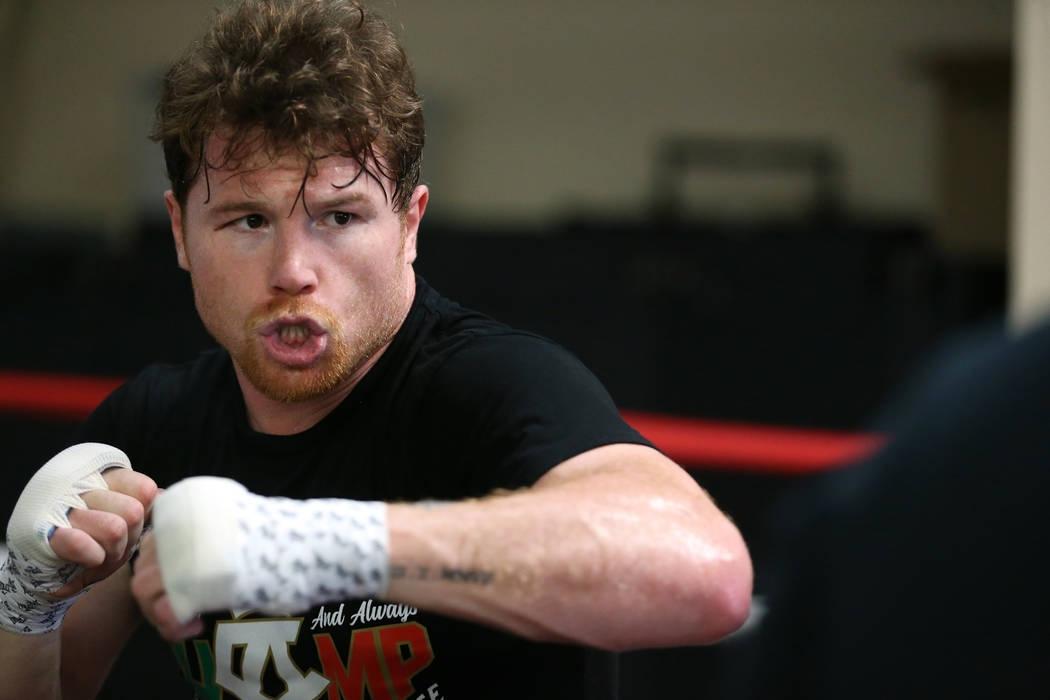 Мексиканската боксова суперзвезда Саул