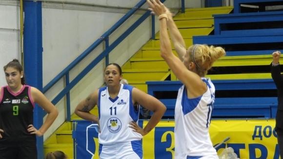 Шампионът на България по баскетбол за жени Монтана 2003 постигна
