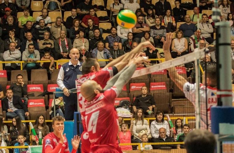 Българският волейболен първенец Нефтохимик ще играе срещу сръбския Войводина (Нови