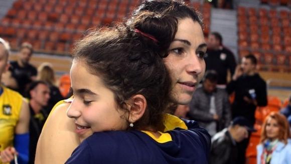 Една от най-големите волейболистки в историята на Марица Пловдив -
