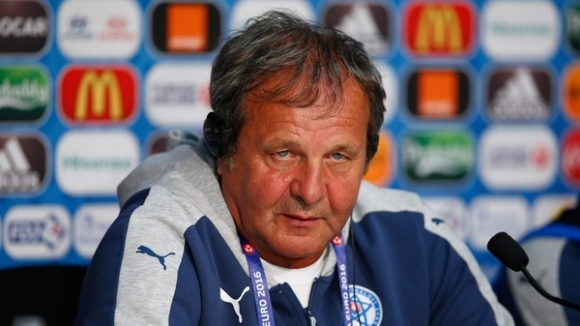 Вече бившият селекционер на националния отбор на Словакия Ян Козак