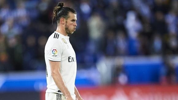 Уелската звезда на Реал Мадрид Гарет Бейл проведе пълноценно занимание
