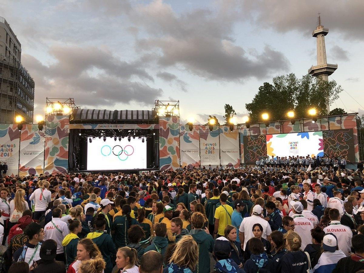 Третите младежки олимпийски игри в Буенос Айрес бяха закрити с