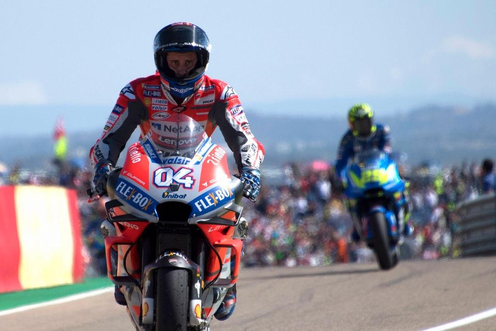 Пилотът на Ducati Андреа Довициозо оглави първата тренировка от състезателния