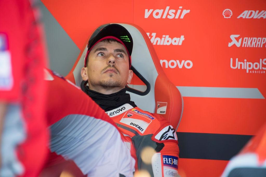 Пилотът на Ducati Хорхе Лоренсо няма да вземе участие в