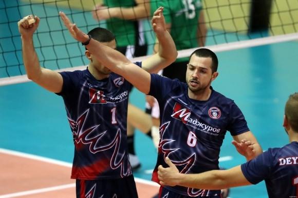 Мъжкият отбор на Дея спорт (Бургас), който е новак в