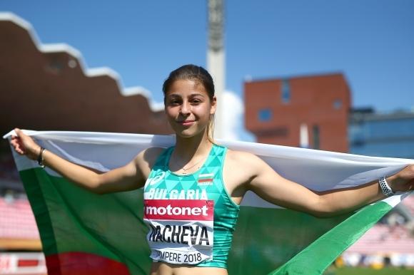 Александра Начева, която спечели световната титла при 20-годишните, олимпийското злато