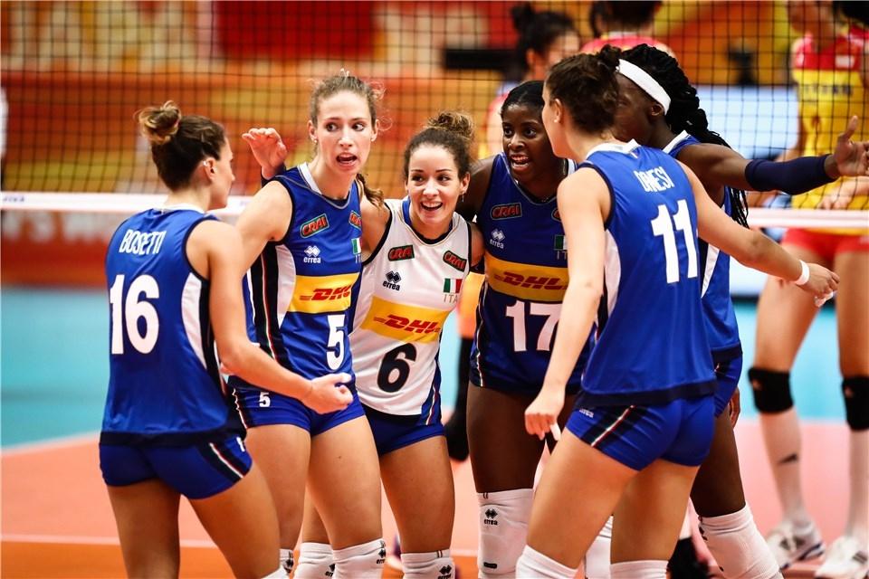 Волейболистките на Италия се класираха на финала на световното първенство