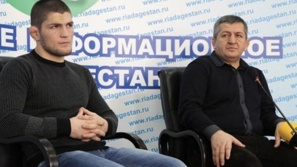 Бащата на Хабиб Нурмагомедов - Абдулманап - очевидно е простил
