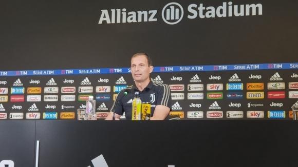 Старши треньорът на Ювентус Масимилиано Алегри даде пресконференция преди сблъсъка