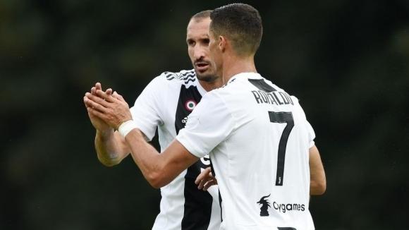 Защитникът на Ювентус Джорджо Киелини заяви, че основните конкуренти на