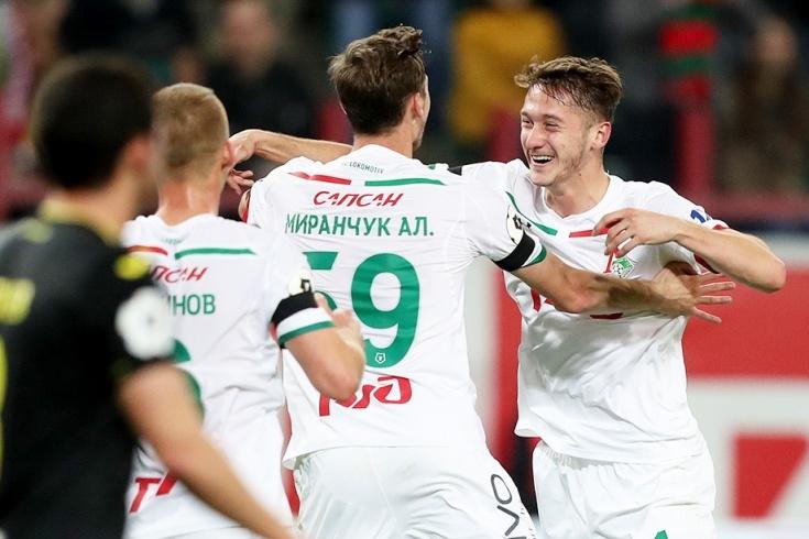 Локомотив Москва победи с 2:1 Ростов в двубой от 11-ия
