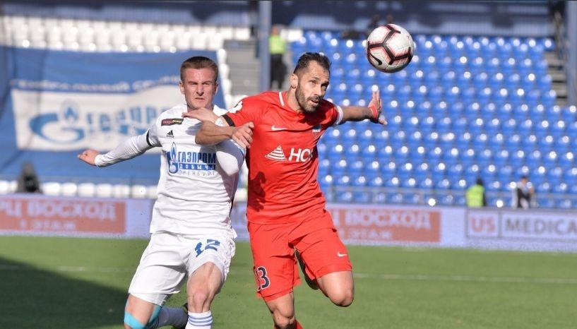 В ранния мач от съботната програма на руската Премиер лига