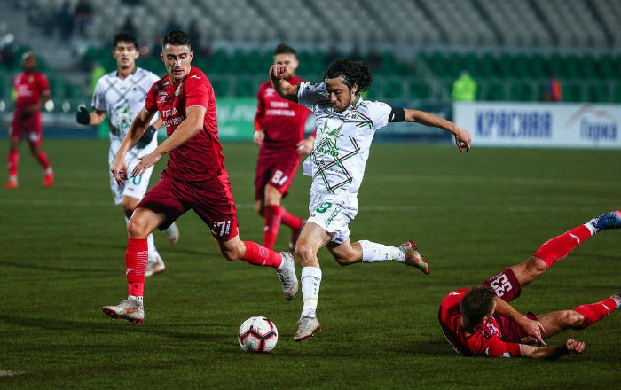 И третият мач за деня в руската Премиер лига приключи