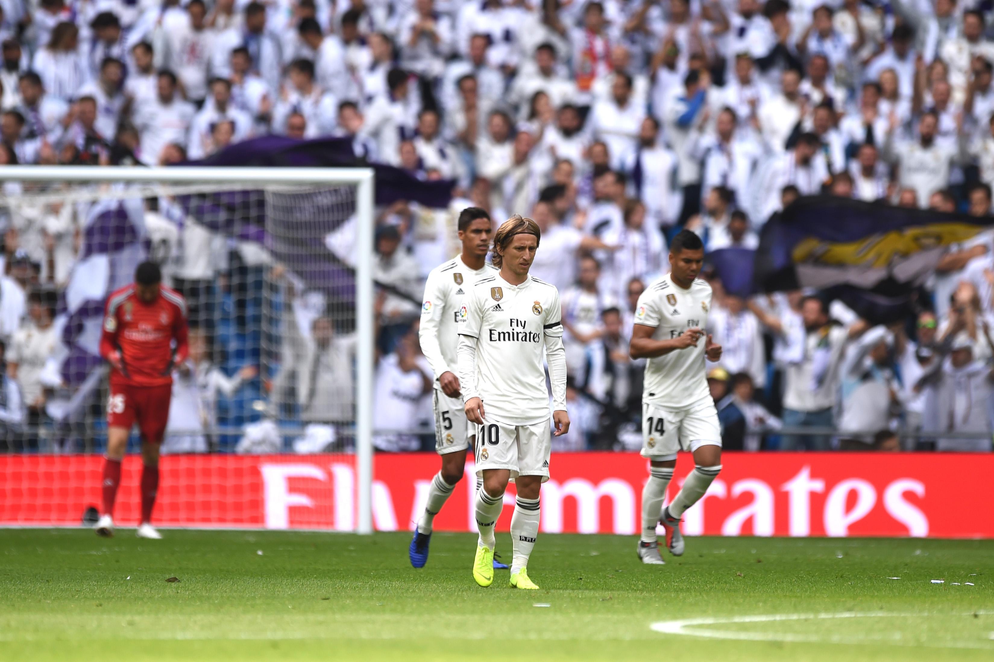 След шест часа без отбелязан гол тимът на Реал Мадрид