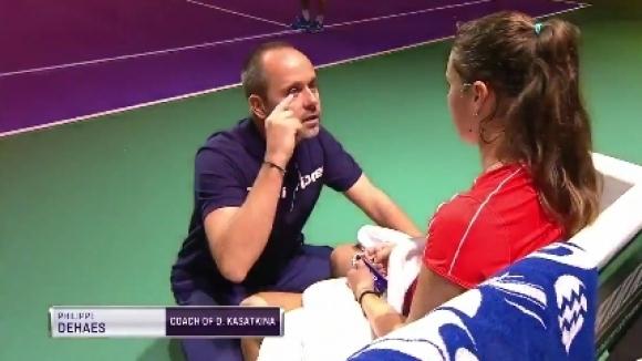 Треньорът на Даря Касаткина - Филип Дьоес - направи поредната