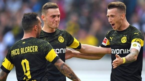 Отборът на Борусия (Дортмунд) разби като гост с 4:0 Щутгарт
