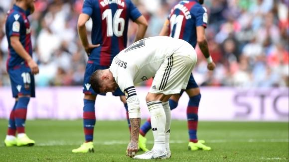 Капитанът на Реал Мадрид Серхио Рамос призова за спокойствие и