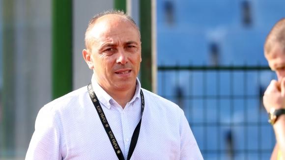 Наставникът на Черно море Илиан Илиев беше доволен от играта