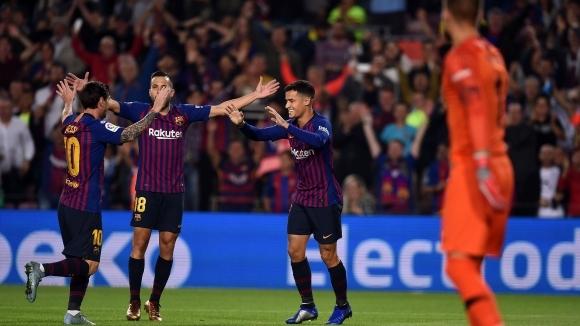Отборите на Барселона и Севиля излизат в двубой от деветия