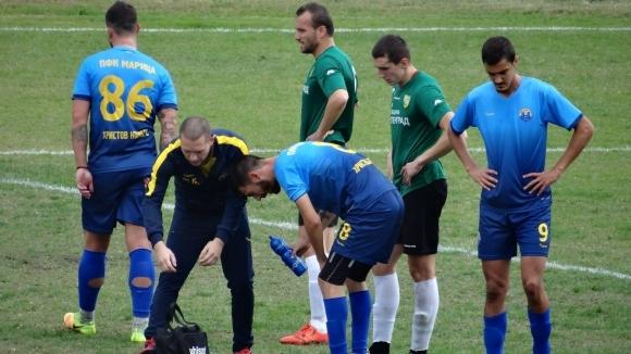 Отборът на Марица (Пловдив) извоюва важна победа над тима на