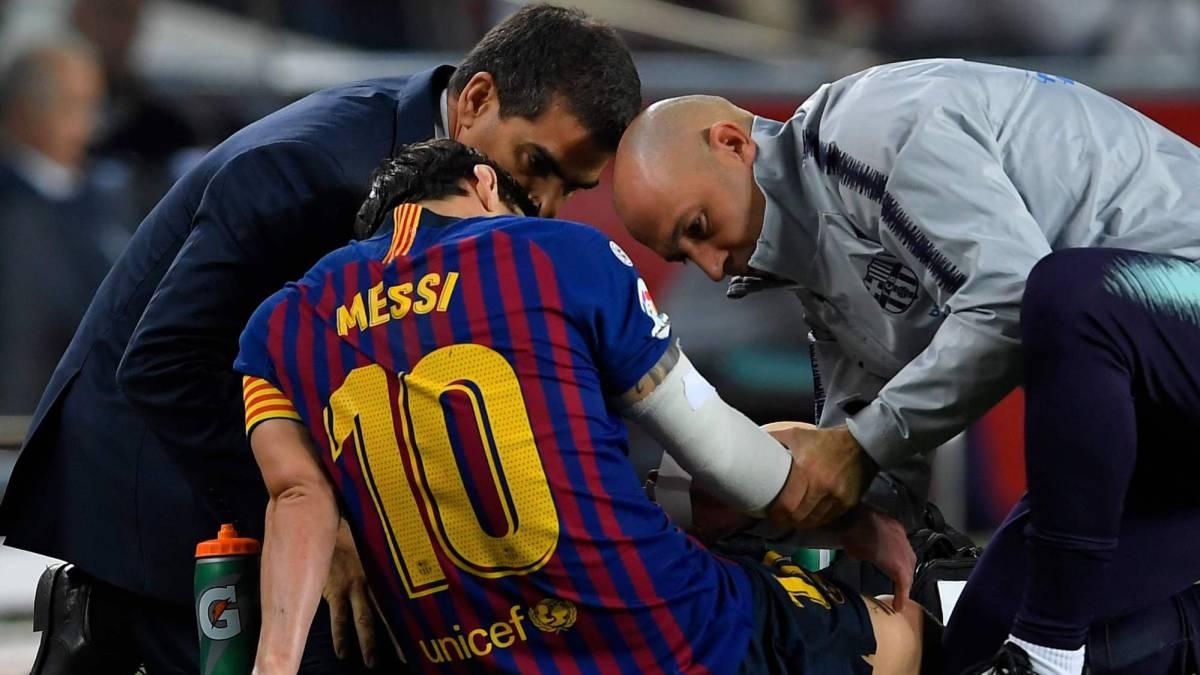 Треньорът на Барселона Ернесто Валверде се спря подробно върху контузията