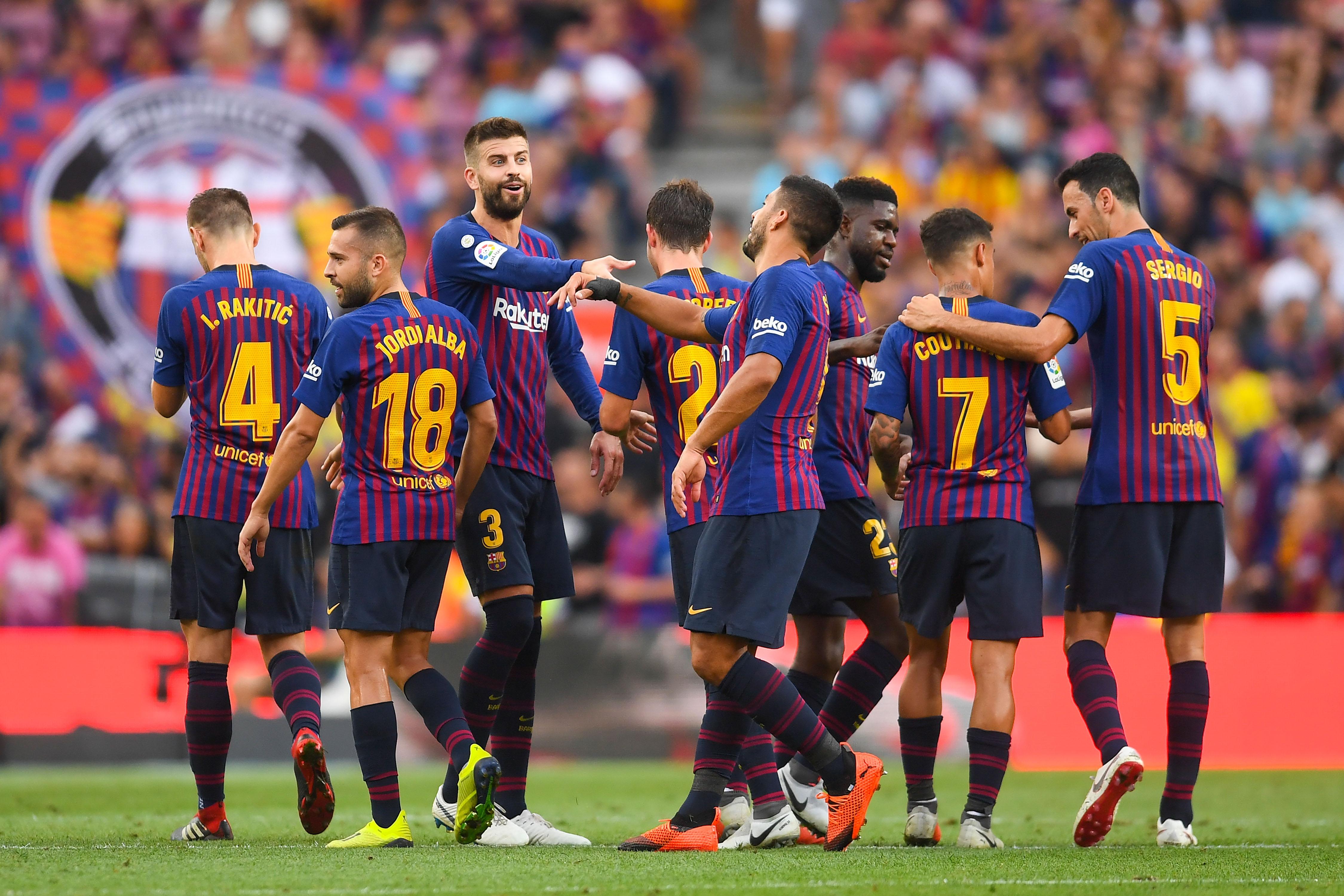 Защитникът на Барселона Жерар Пике коментира травмата на лидера на