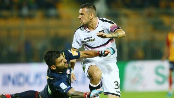 Палермо победи Лече в сблъсъка между двата тима от 8-ия