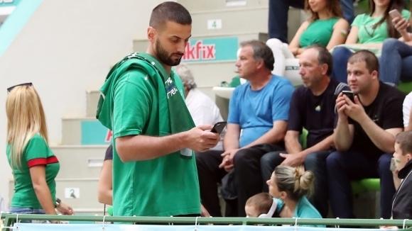 Българинът Иван Лилов игра 31 минути при загубата на Капошвари